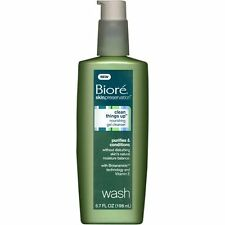 Biore Clean Things Up Nourishing Gel Face Cleanser-6.7 oz