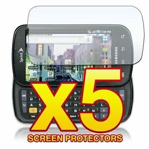5-Pack-Clear-LCD-Screen-Protector-Cover-Film-for-Samsung-Stratosphere-i405-Phone