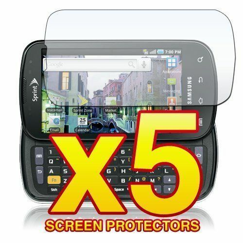 5 Pack Clear LCD Screen Protector Cover Film for Samsung Stratosphere i405 Phone