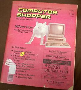Rare Computer Shopper April 1985   Ships Worldwide
