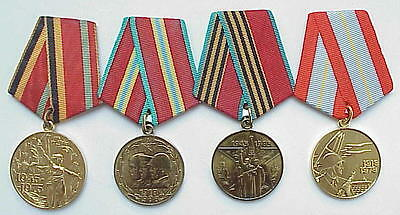 40years RUSSIAN SOVIET MILITARY WWII WAR MEDAL ORDER AWARD ARMED USSR BADGE PIN