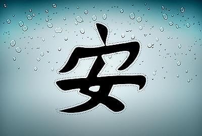 sticker car auto moto decals vinyl jdm kanji chinese sign sayings beauty r2