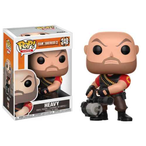 Funko Team Fortress 2 POP Red Heavy Vinyl Figure NEW Toys Collectibles