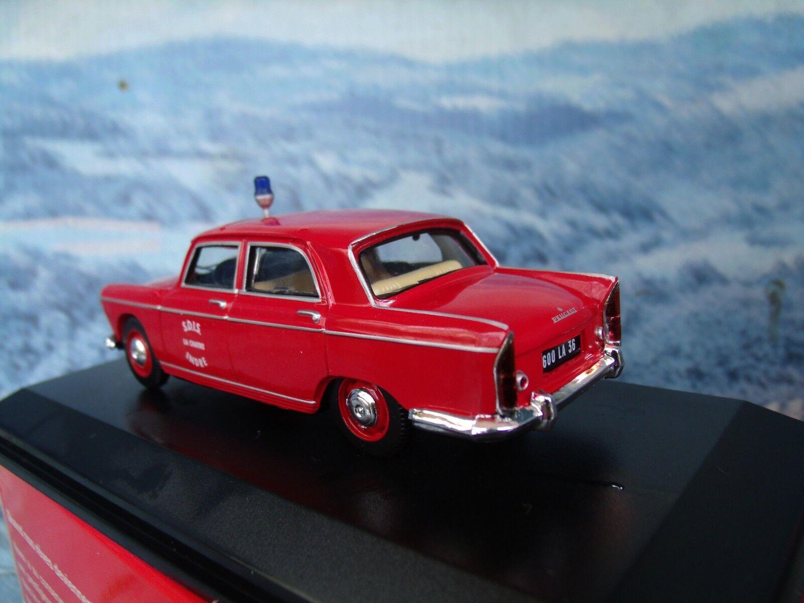 1 1 1 43  Norev   Peugeot 404 Fire efd036