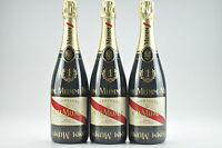 3--bottles Gh Mumm Cordon Rouge Champagne Formula 1 Edition