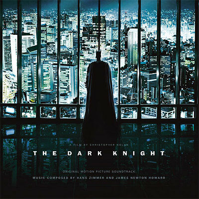 HANS ZIMMER-THE DARK KNIGHT SOUNDTRACK 180g DOUBLE VINYL LP, NEW/SEALED
