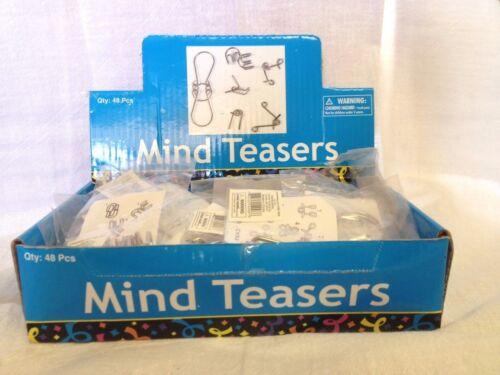 Fun Game Toy Magic Locking Twister Brain Mind Teaser Metal Puzzle USA SELLERS