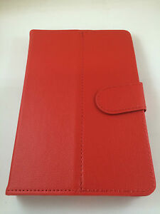 """Cover Case Universal With Magnetic For Tablet Of 7 """" 7 Inches Colour Red"""