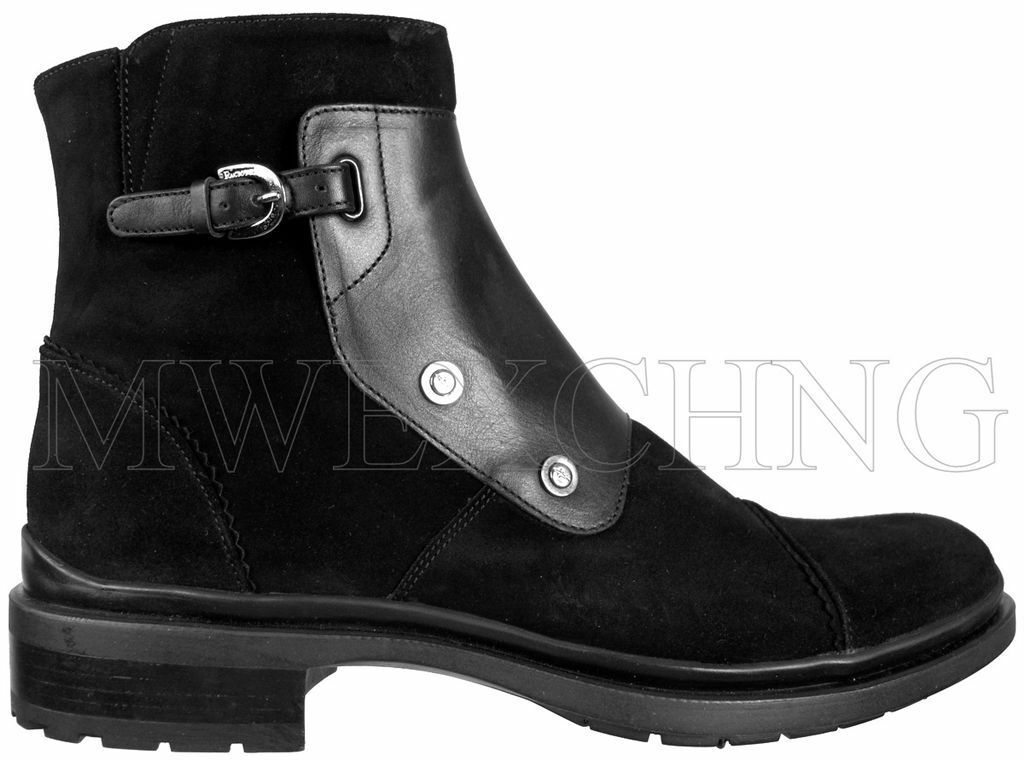 725 Authentic Cesare Paciotti Ankle stivali US 6.5 Italian Designer Mens scarpe