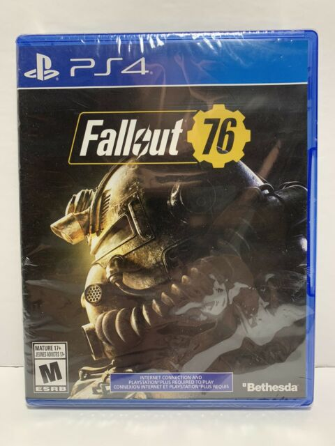 Fallout 76 Video Game (Sony PS4, 2018) Sealed Bethesda
