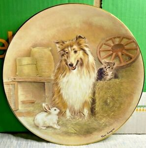 Royal Worcester-Fine Bone China-RSPCA Plate Collection-21cm-Pam Cooper-Vintage