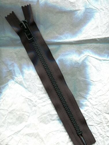 10 inch Black /& Black Steel Teeth #10 YKK one closed end Zipper Heavy Duty New!