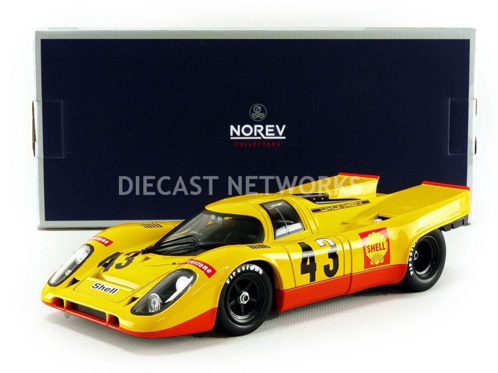 Norev porsche 917 k spa - francorchamps 1970 laine   van lennep   43 1   18 - skala.