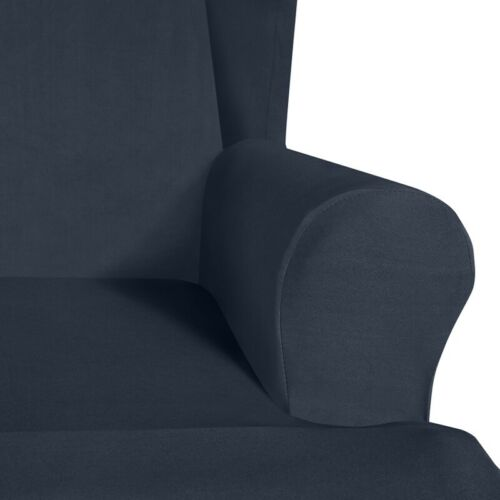 2PC Wing Chair Cover Sofa Couch Chair Slipcover Wingback Chair Protector Stretch
