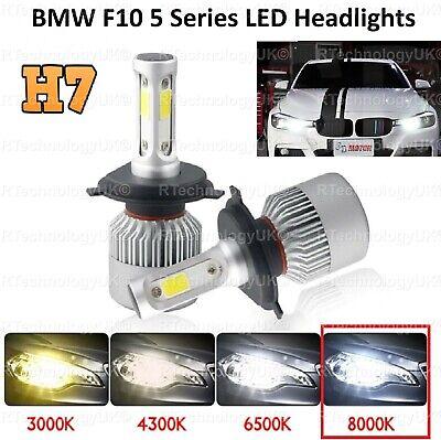 2x H7 Xenon Bulbs 100w 12v White To Fit Headlight Ford Fiesta MK6 1.6 TDCi