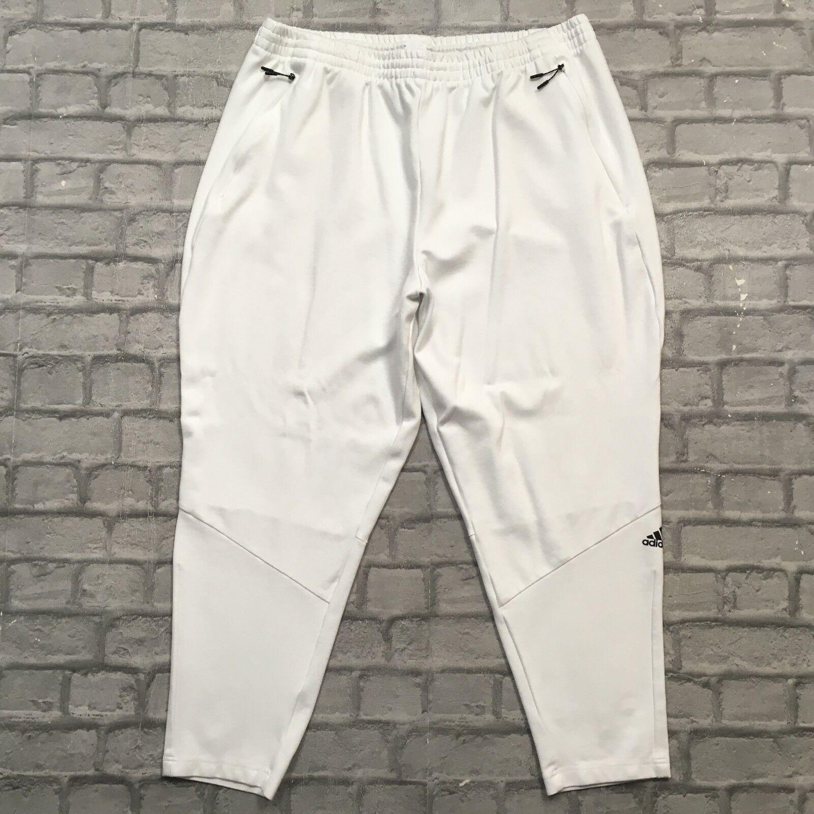Blanc Uk Performance Adidas De Zne 2xl Jogging Homme Pantalon tPwnqaZ