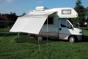 Sonnendach-Lichtschutz-Vorderwand-Markise-Sunblocker-Zelt-ETCT0025-400-NEU-OVP