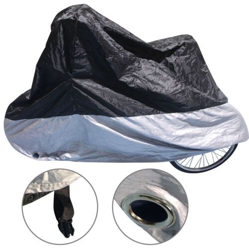 Portable Outdoor Waterproof Bicycle Tricycle Bike Cover Dust Protect+Storage Bag