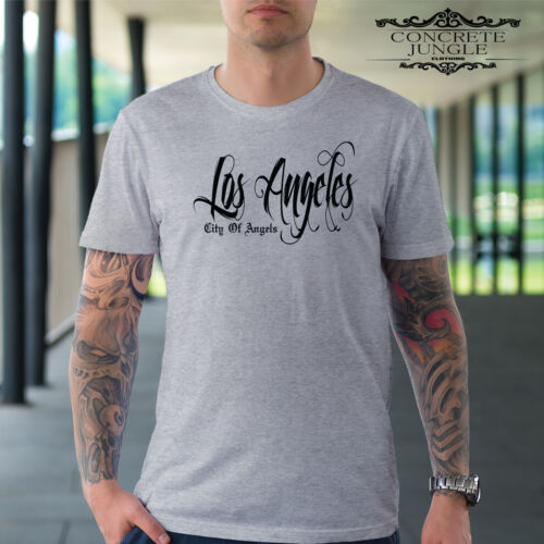 LOS ANGELES T SHIRT HIP HOP RAP SUMMER FESTIVAL TEE