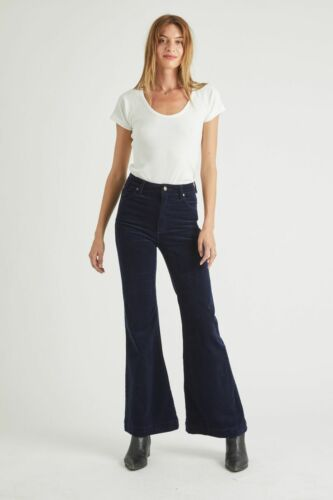 NEW Rolla/'s Rollas WOMENS EASTCOAST FLARE MIDNIGHT CORD