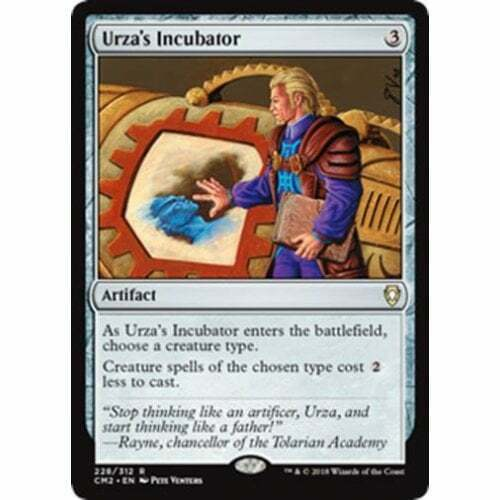 MTG COMMANDER ANTHOLOGY VOLUME II Urza/'s Incubator