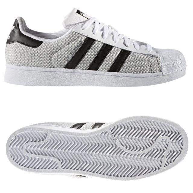 Adidas Super Star Baskets Noir gris blanc S76674 36 36 36 2 3 Gris eBay bd5460