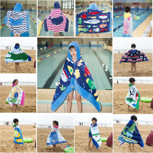 Children Cotton Bath Towel Bathrobe Cow Cartoon Swimming Beach Towel Baby Care