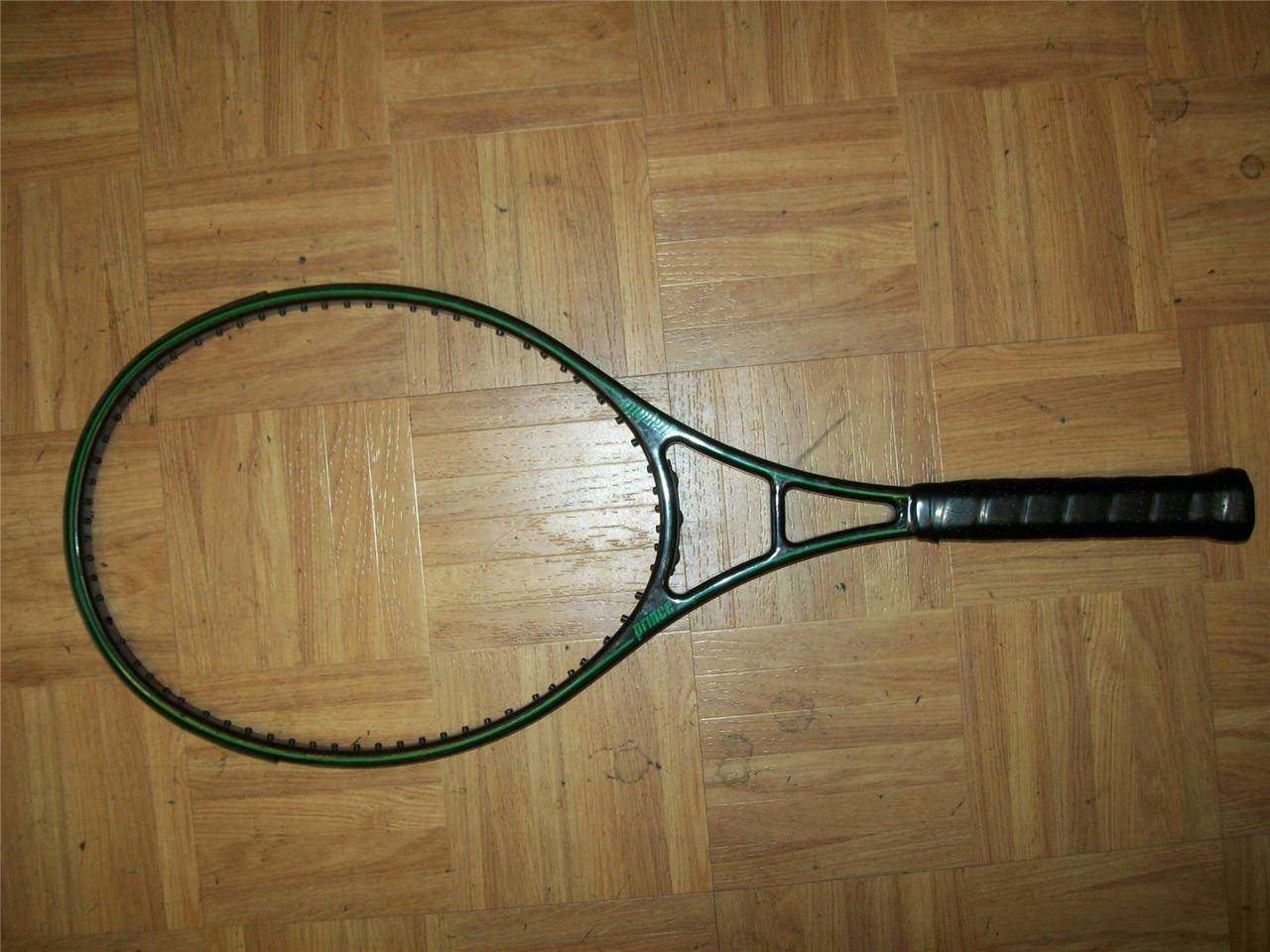 Prince Graphite Original OS Series 110 head 4 1 2 grip Tennis Racquet