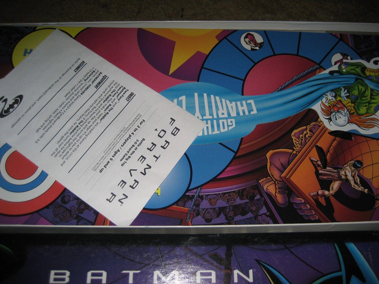 Batman Forever Battle at the Big Top 1995 parker bredhers rare complete