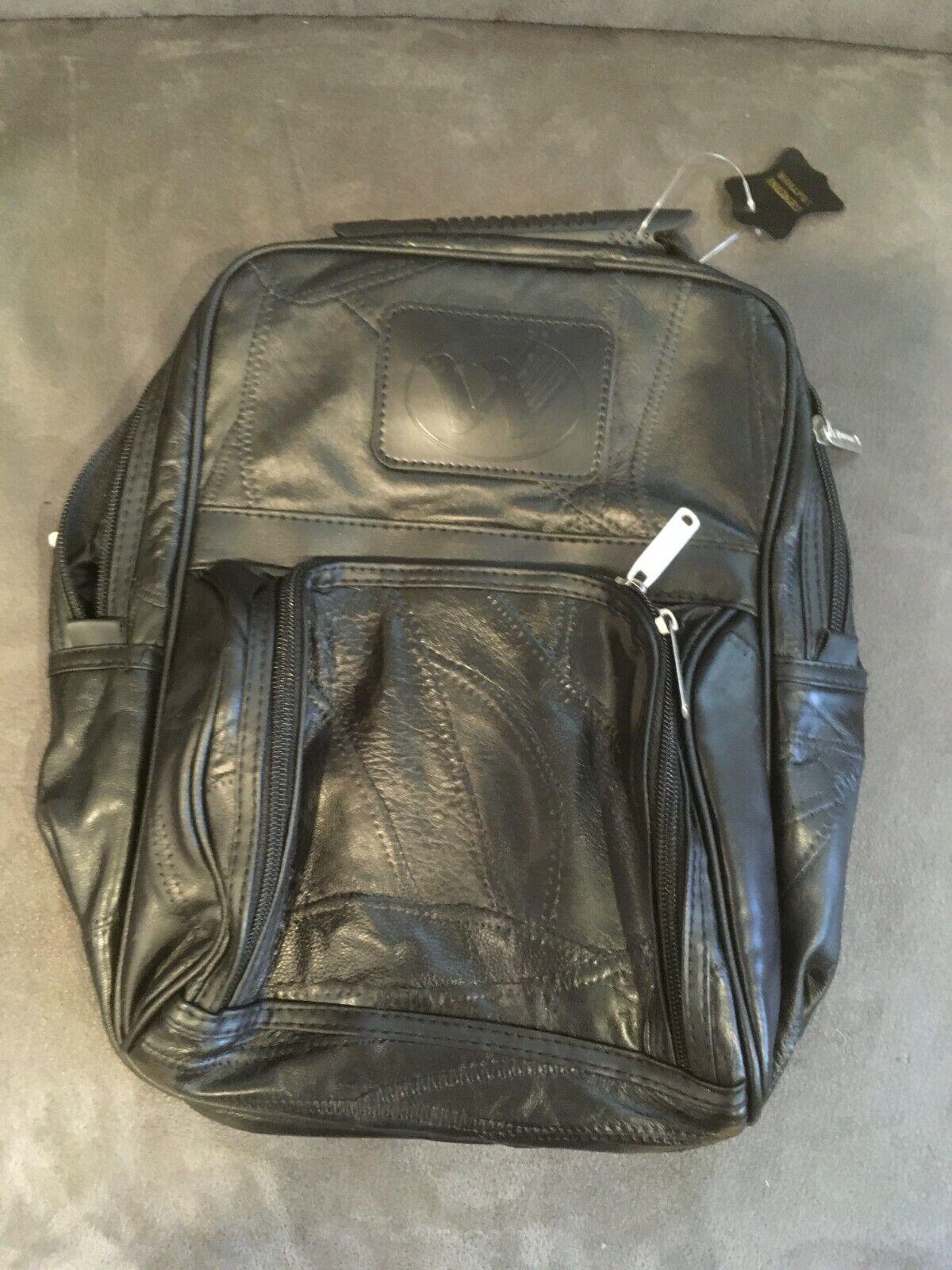 Seville Gear Shoe Caddy Storage Bag - Black Leather