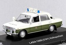 1/43 scale Cars & Co CCC056 east German VAZ 1200 2101 LADA Volkspolizei NIB