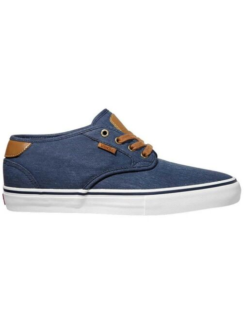 28838706ec2f VANS Chima Estate Pro Washed Navy Authentic Skate SNEAKERS Men Size ...