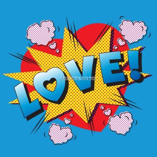 love ref 11019 11019 Wall stickers deco
