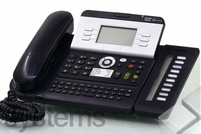 Telekom T-Com Octophon Open 141 weiß Key Modul 10 Re/_MwSt bgl Alcatel 4029