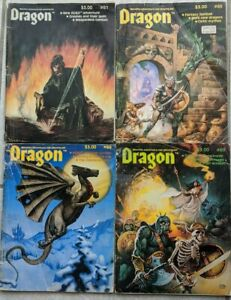 Dragon-Magazine-Role-Playing-Dungeons-and-Dragons-61-65-68-69-Fair