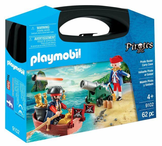 Playmobil Pirates 9102 Maletín Grande Pirata y soldado + 4 años Entrega 48 horas