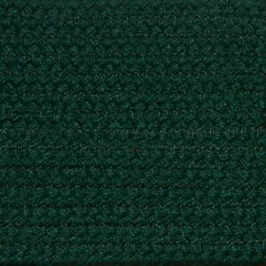 Solid Hunter Green Braided Area Rugs By Colonial Rug Many