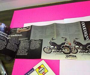 YAMAHA 1985 XV700 VIRAGO SILVER DECALS GRAPHICS