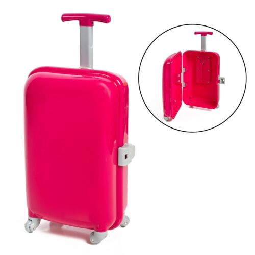 Doll Accessories American Luggage SetPassport Ticket Suitcase 18Inch Strong