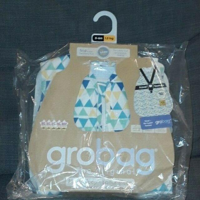 6-18 Months 1.0 Tog The Gro Company Rouge Zig Zag Travel Grobag Sleeping Bag