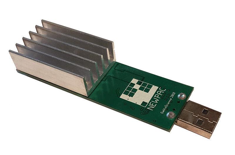 GekkoScience NEWPAC BM1387 SHA256 Bitcoin USB Mining Stick (New 2PAC Miner) 1