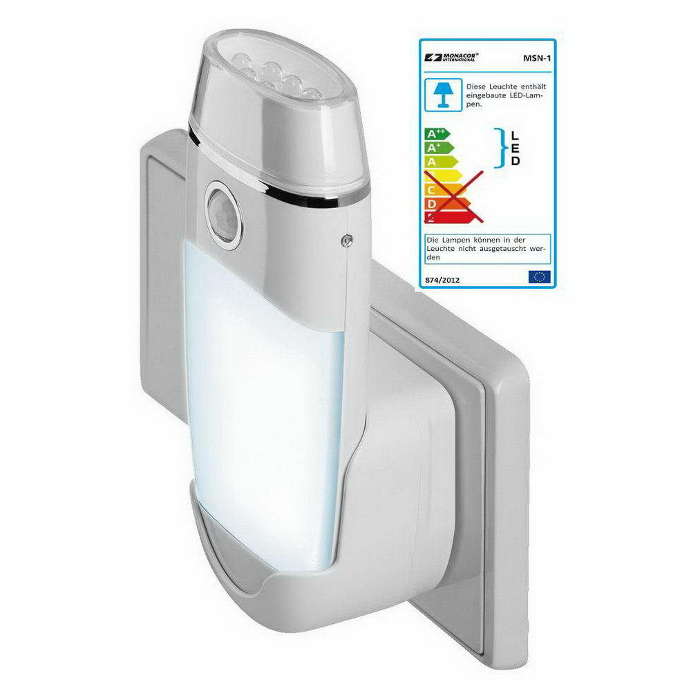 4x Nachtlicht mit Bewegungsmelder  Taschenlampe; Notlicht Treppenlicht; EEFK A | Verschiedene Stile und Stile