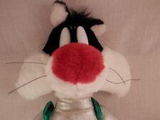 "Loony Tunes Sylvester Cat Spaceman Plush  16"" 1998 Warner Bros"
