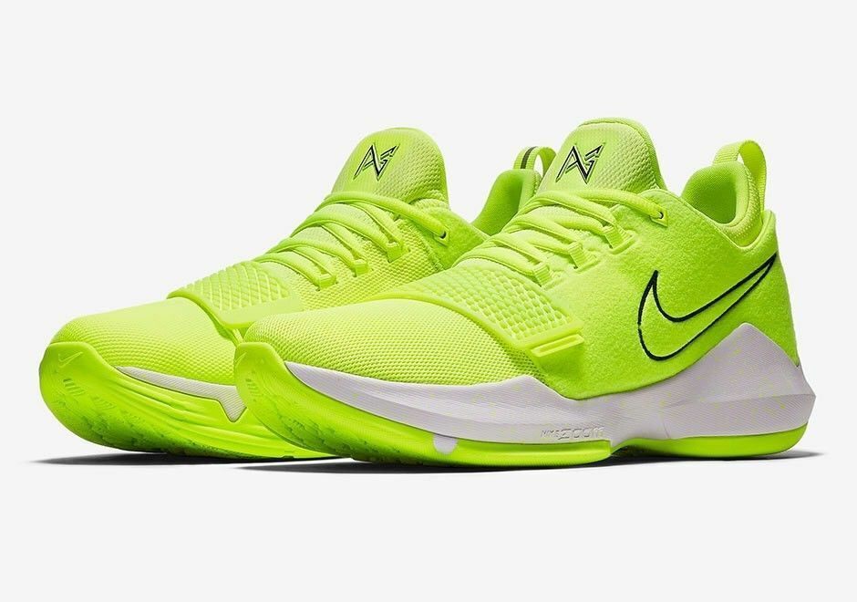 MENS NIKE PG1 PAUL GEORGE 878627 700 SNEAKERS-chaussures-BASKETBALL-Taille Taille 10.5