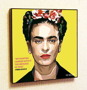 Frida-Kahlo-Painting-Decor-Print-Wall-Art-Poster-Pop-Canvas