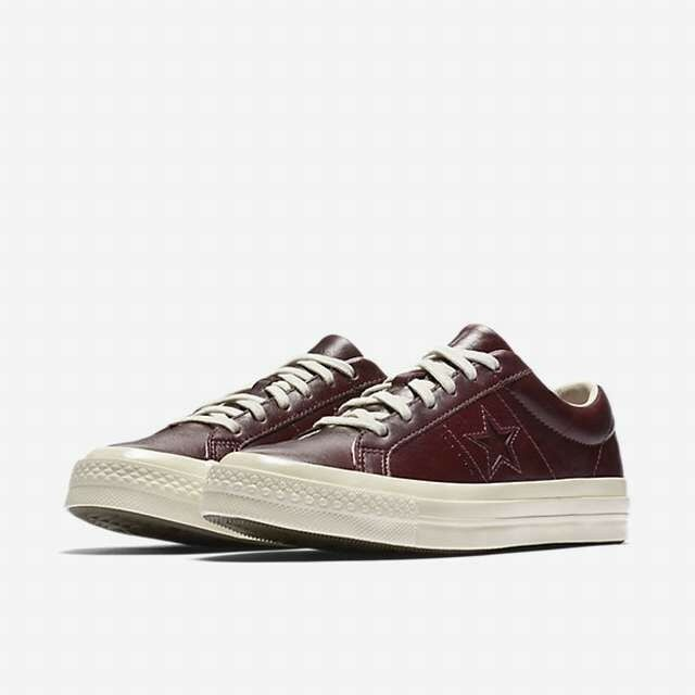 Converse One Star Pelle and Tapestry Unisex Sangria Shoe 157803C