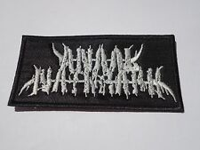 ANAAL NATHRAKH BLACK METAL EMBROIDERED PATCH