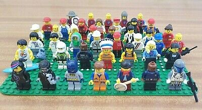 Lego genuine minifigure bundle joblot 5 random figures plus accessories bundle