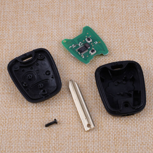 2 Buttons 433MHz Remote Key Case ID46 Chip for Citroen Saxo Picasso Berlingo