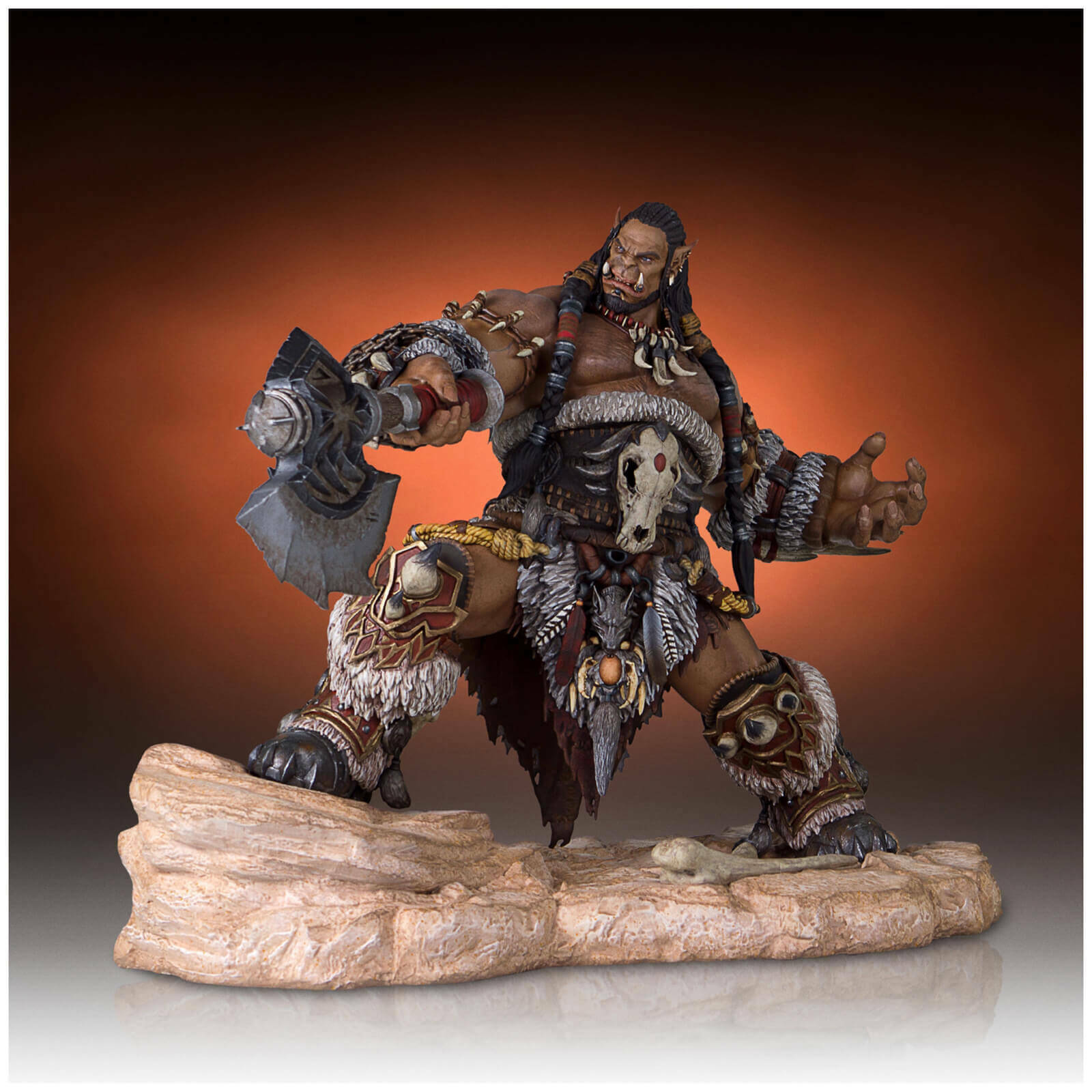 WORLD OF WARCRAFT - Durotan 1 6 Scale Statue (Gentle Giant)  NEW